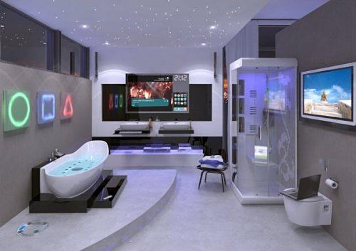Ванная комната будущего будет полностью цифровой