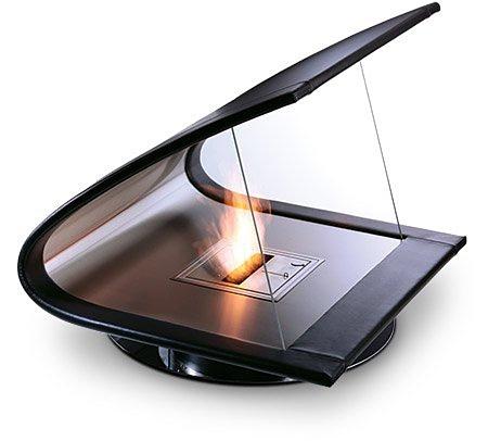 Камин EcoSmart Zeta Fireplace работает на этаноле