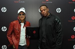 HP, Dr. Dre и Jimmy Lovine представляют эксклюзивный рэп-ноутбук