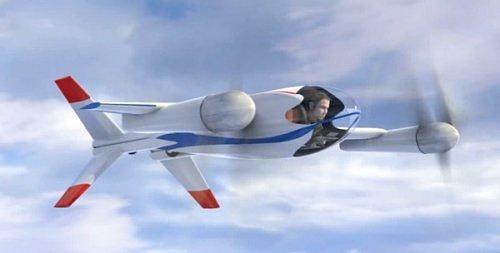 Новый проект NASA: персональный летательный аппарат Puffin