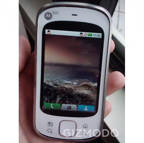 Интерфейс мобильника Motorola Zeppelin – по секрету всему свету