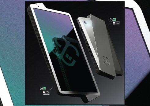 Gravity Phone – концепт с «неправильным» дисплеем