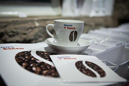 Компания Philips напоила гостей профессиональным кофе