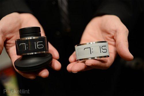 CES 2013: E Ink разработала тончайшие электронные наручные часы