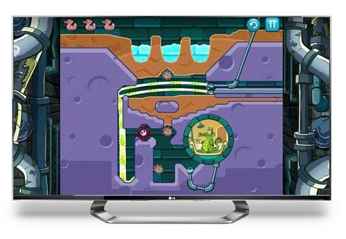 LG представила первоклассные игры на телевизоры LG CINEMA 3D Smart TV