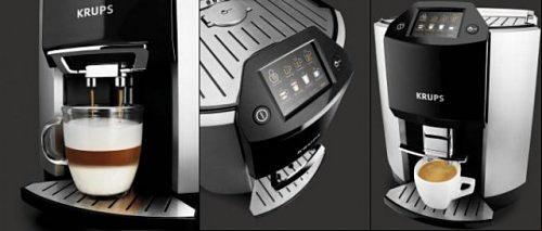 Krups Barista EA9000 – автоматизированная кофе-машина, с которой утро начнется бодро