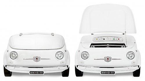 Fiat 500 превращается в стильный холодильник