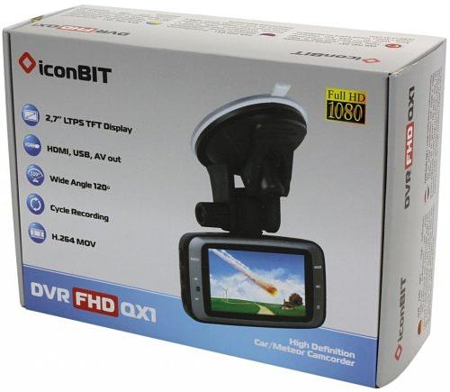 IconBIT DVR FHD QX1 – видео свидетель высокого уровня