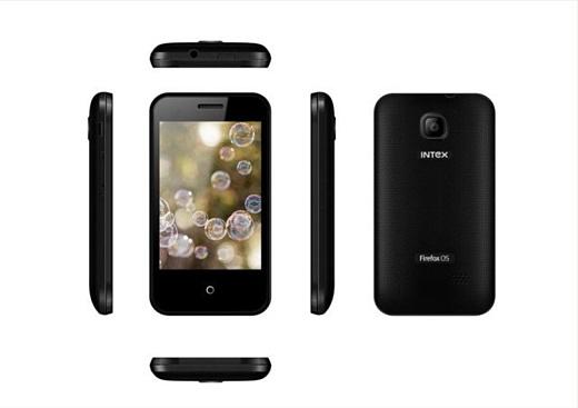 Mozilla продемонстрировала смартфон Intex Cloud FX за $33