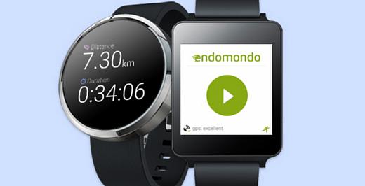 В Endomondo появилась поддержка Android Wear