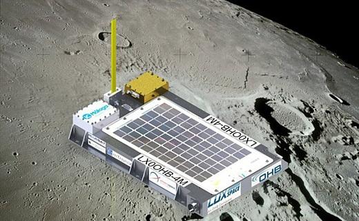 Китай запустил на Луну частный космический аппарат