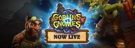 Blizzard запустила дополнение Hearthstone: Goblins vs. Gnomes