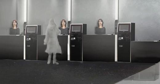 Японский отель Henn-ha будет встречать посетителей роботами, похожими на людей
