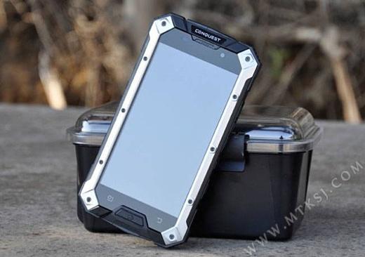 В Китае представлен защищенный смартфон Conquest S6
