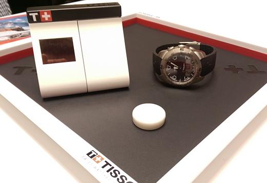 Tissot продемонстрировала прототип своих умных часов