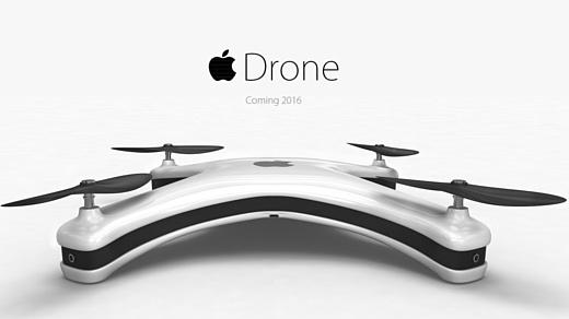 Представлен концепт дрона Apple