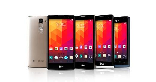 LG начала продажи недорогих смартфонов Magna, Spirit, Leon и Joy