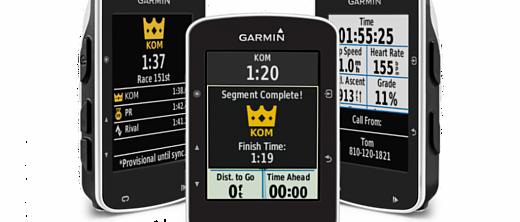 Garmin представила велосипедный компьютер Edge 520