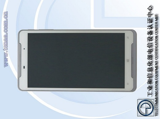 В Китае прошел сертификацию 7-дюймовый планшет на Windows Phone