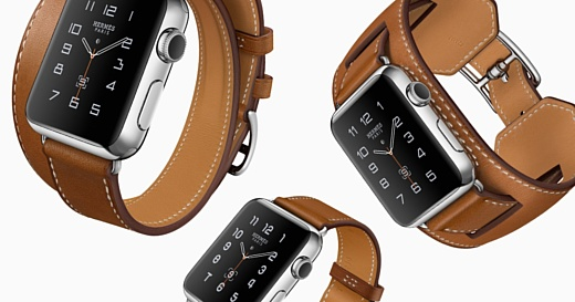 Apple начнет продавать Apple Watch Hermès edition 22 января