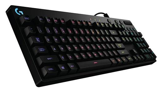 Logitech представила игровую клавиатуру G810 Orion Spectrum