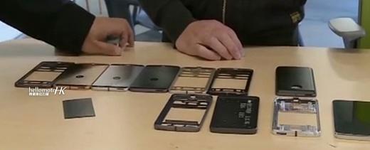 Опубликованы фото прототипов новых смартфонов Motorola