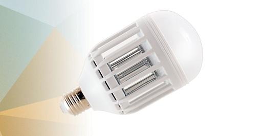ZappLight показала лампочку, которая уничтожает насекомых