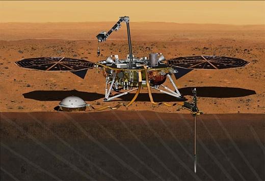 НАСА запустит новый зонд на Марс в мае 2018