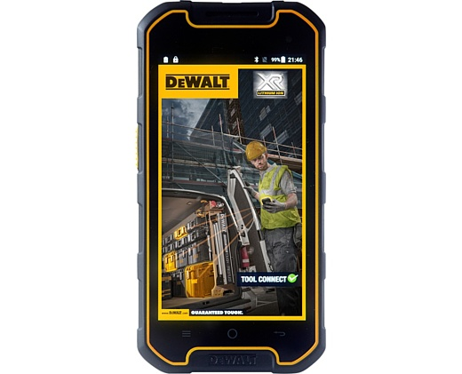 DeWalt представила собственный защищенный смартфон