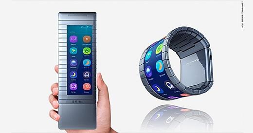 Китайский стартап Moxi может выпустить гибкий смартфон раньше Samsung