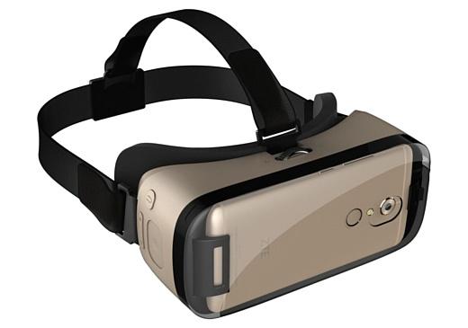 ZTE представила VR-шлем для Axon 7