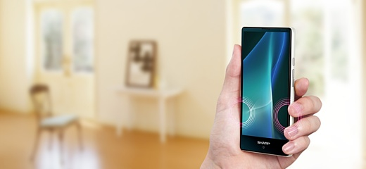 Sharp анонсировала мощный и небольшой смартфон Aquos mini