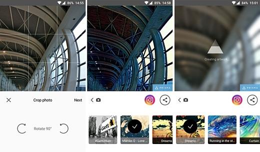 Началось бета-тестирование Prisma на Android