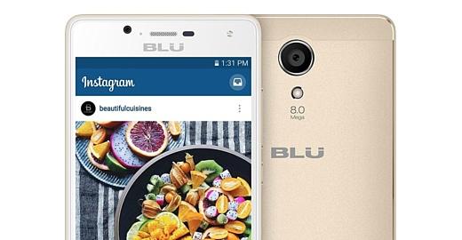Blu анонсировала дешевый смартфон Studio Touch