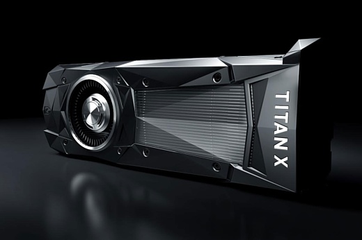 Nvidia представила топовую видеокарту Titan X Pascal за $1200