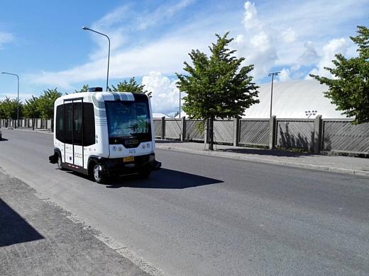 В Хельсинки начали тестировать автобусы без водителей
