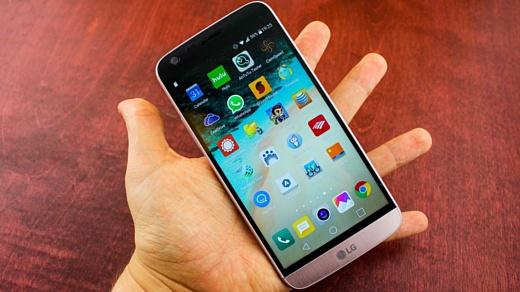 Слух: LG решила не использовать в G6 изогнутый экран