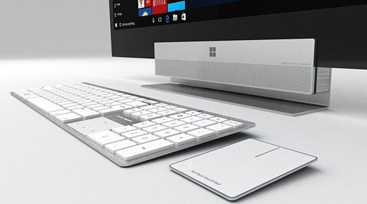 Моноблок Microsoft назовут Surface Studio