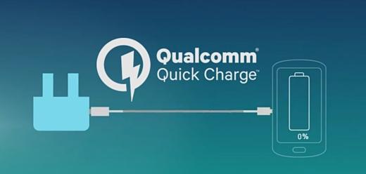 Слух: Qualcomm Quick Charge 4.0 позволит заряжать мобильники еще на 50% быстрее