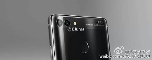 Утечка: новое фото Huawei P10 / P10 Plus