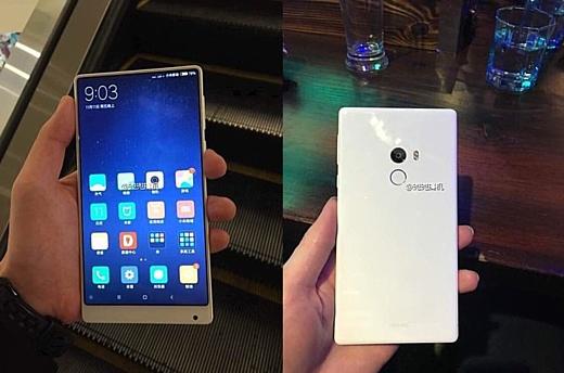 Утечка: фото белого Xiaomi Mi Mix