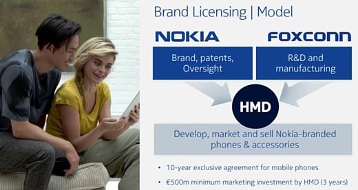 Nokia вернется на рынок смартфонов в 2017