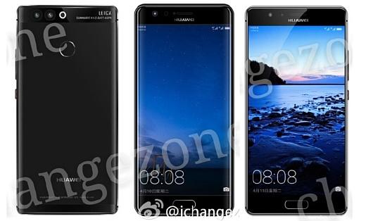 Утечка: рендеры Huawei P10