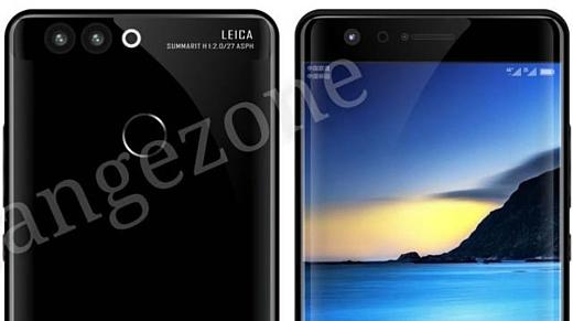 Утечка: новые рендеры Huawei P10 с искривленным экраном