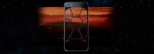 Sharp выпустила смартфон для фанатов «Звездных войн»