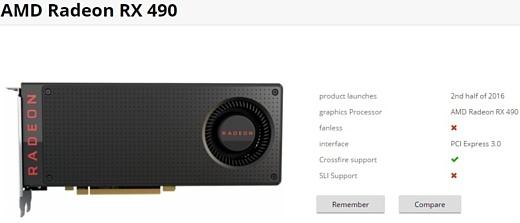 Слух: AMD скоро выпустит видеокарту Radeon RX 490