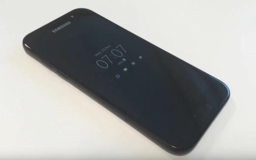 В сеть попало видео с неанонсированным Samsung Galaxy A5 (2017)