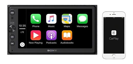 Sony выпустила автомобильную развлекательную систему с поддержкой Android Auto и CarPlay за $499