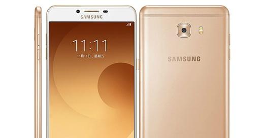 Утечка: фото черного Samsung Galaxy C9 Pro