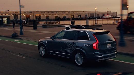 Uber выпустила на улицы Сан-Франциско свои авто без водителей